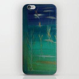 Corn Husk Mist Outside My Window iPhone Skin