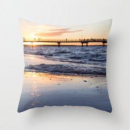 Cali Summer Throw Pillow