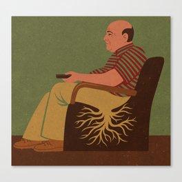 root man Canvas Print