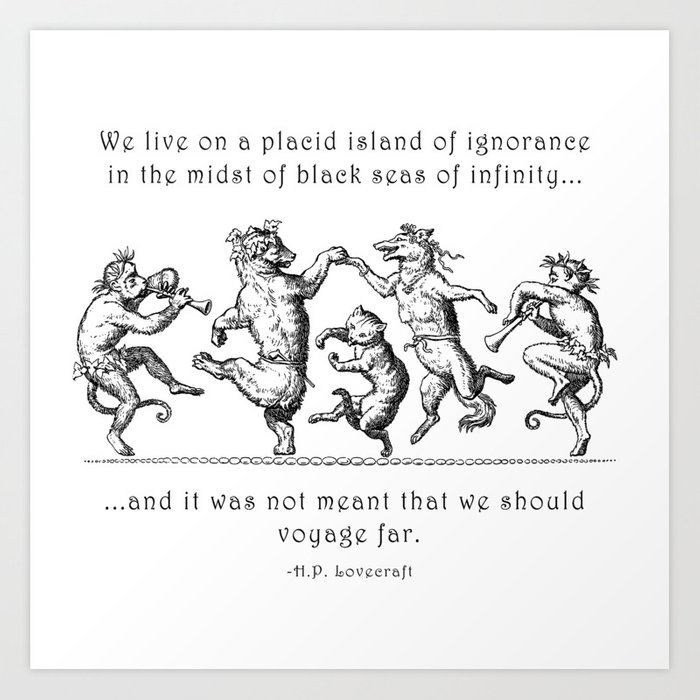 Island of Ignorance Art Print