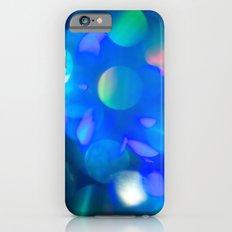 Bokeh in Blue iPhone 6s Slim Case
