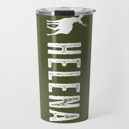 Deer: Helena, Montana Travel Mug