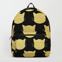 Golden Cats Backpack