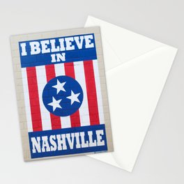 I Believe in Nashville Stationery Cards