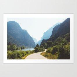Hanging Lake Trailhead, CO Art Print