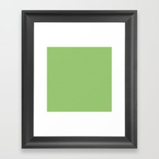 U1: happy dots Framed Art Print