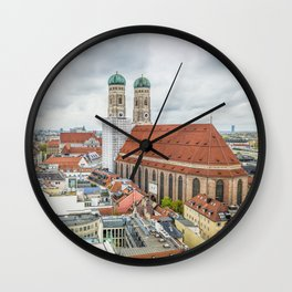 The Cathedral of Munich Wall Clock