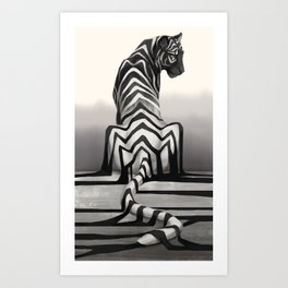Shadow Fall Art Print