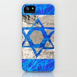 Flag of Isreal iPhone Case