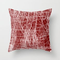 RAYURES Throw Pillow