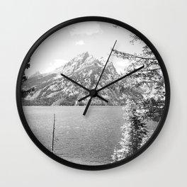 Jenny Lake Grand Teton, WY Wall Clock