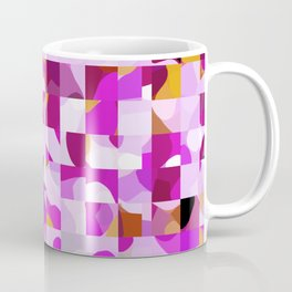 Crazy Squares Coffee Mug