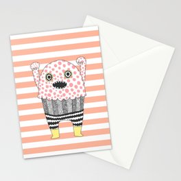 The Corner Monster Series Stationery Cards