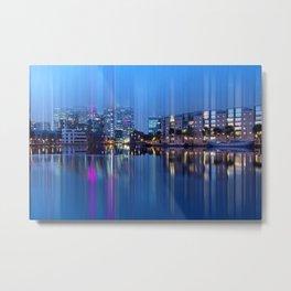 Docklands in motion  Metal Print