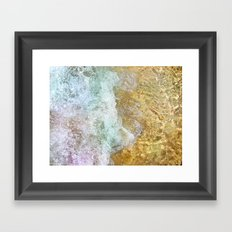 cycle wave Framed Art Print