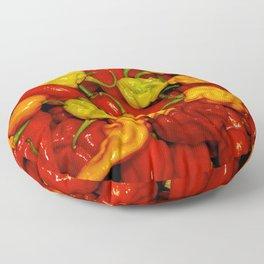 Hot Pepper Mix Floor Pillow