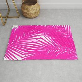 Palms Fuchsia Rug