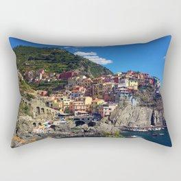 Manarola Cinque Terre Italy Rectangular Pillow