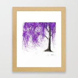 Violet Vale Framed Art Print