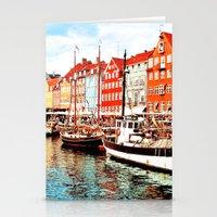 copenhagen Stationery Cards featuring Copenhagen, Denmark by Philippe Gerber
