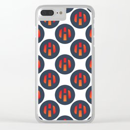 Heat Ledger - Crypto Fashion Art (Large) Clear iPhone Case