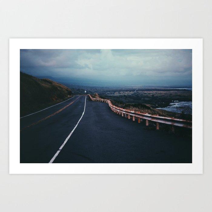 Road to Infinity Art Print