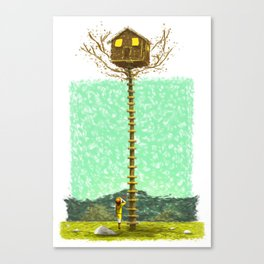MOONRISE KINGDOM Painting Poster | PRINTS | #M45 Canvas Print