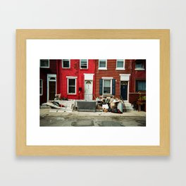 YOU KNOW YOURE IN Framed Art Print