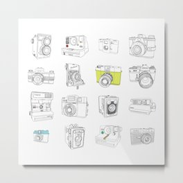 My Camera Collection Metal Print