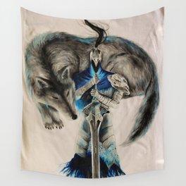 Dark souls abyss walker Wall Tapestry