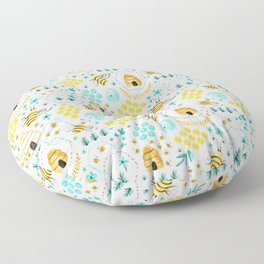 Busy Bees Floor Pillow