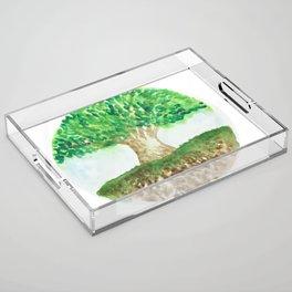 Tree of Life Acrylic Tray