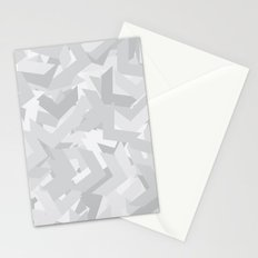 White Chevron Stationery Cards
