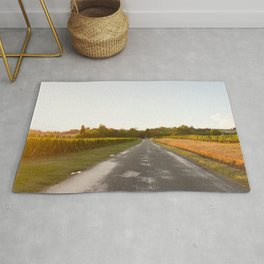 Driving in Bordeaux Rug