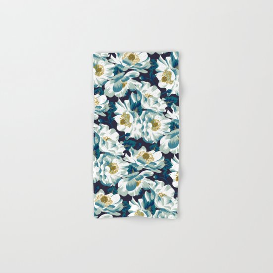 Mount Cook Lily (Night) Hand & Bath Towel
