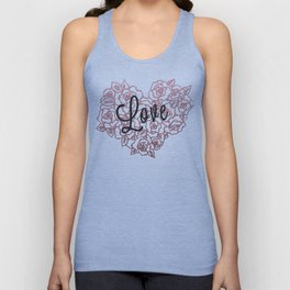 love flowers! Unisex Tank Top