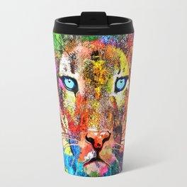 Puma Watercolor Grunge Travel Mug