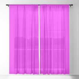 Light Magenta plain color Sheer Curtain