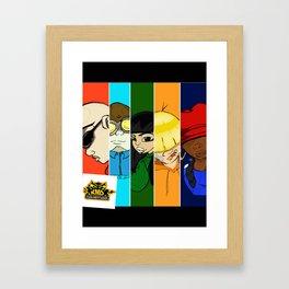 KND Collage Framed Art Print