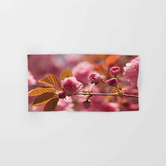 Cherry Blossoms Hand & Bath Towel