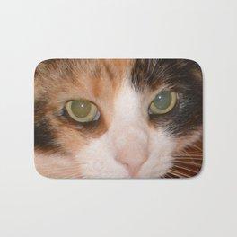 Cat Eyes, Green Eyes, Bedroom Eyes Bath Mat