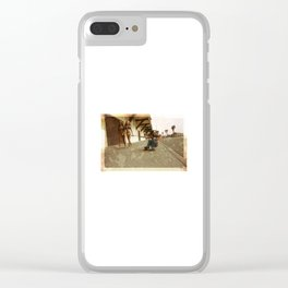 Dead Dogtown Clear iPhone Case