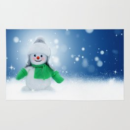 Snowman Wishes Rug