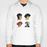 bebop Hoodies featuring Cowboy Bebop - Bounty Days by Aaron Secrist