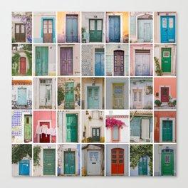 Door Collection Canvas Print