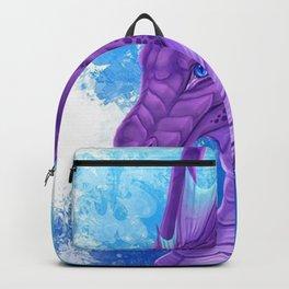 Purple Dragon Backpack