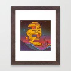 DECIMATOR01 (everyday 03.22.16) Framed Art Print
