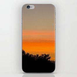 Shadow Sunset iPhone Skin