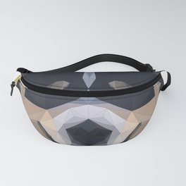 Polygon Art - Dog Wolves - Wild Sweet Animals Fanny Pack
