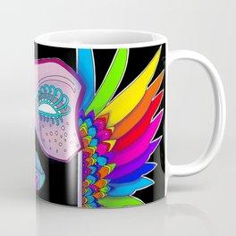 Mardi Gras Feather Wings Coffee Mug